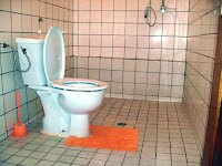 location de toilettes propres dans un appartement a louer a Yaounde