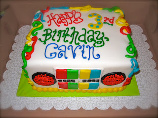 Gabba Gabba Birthday Cakes on Leah S Sweet Treats  Yo Gabba Gabba