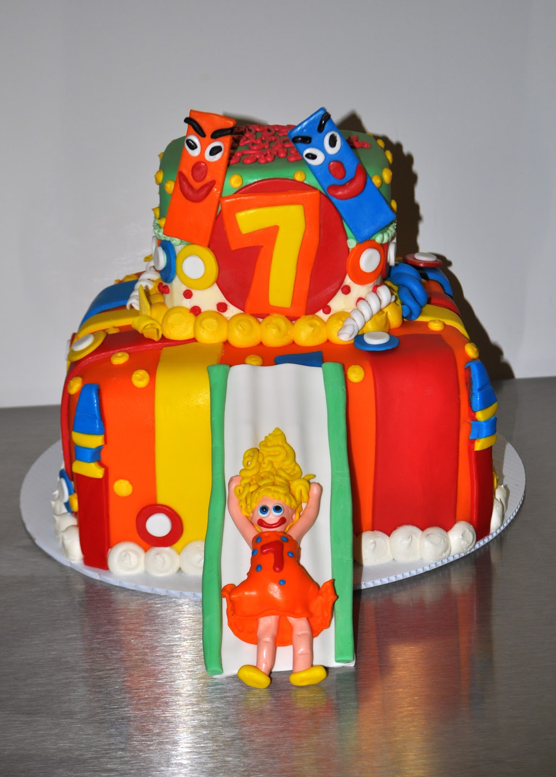 Coolest Cupcakes Bounce House Birthday Cake