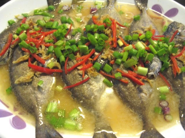 Wen 39 s delight steam rabbit fish w miso sauce for Miso sauce for fish