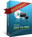 Moyea DVD4Web Converter 2010 Christmas Giveaway