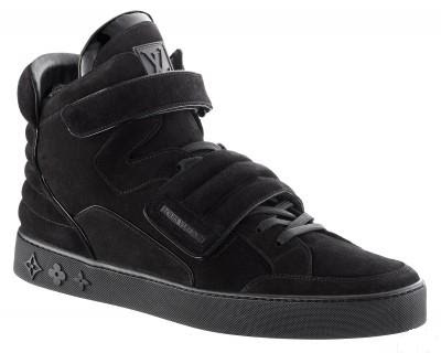 Kanye West's Louis Vuitton High Top Sneaker