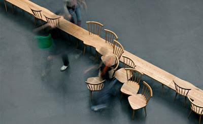 German Design Exhibition, Herford - Stuhlhockerbank by Yvonne Fehling & Jennie Peitz