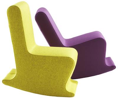 Mini Dada Rocking Chair by Claudio Colucci