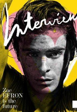 Zac Efron For Interview Magazine