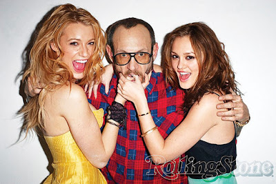 Blake Lively and Leighton Meester by Terry Richardson for Rolling Stones