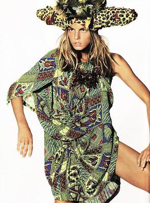 Vogue UK shot by Mario Testino