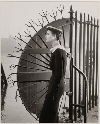 Philip Treacy and Norman Parkinson