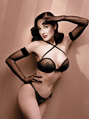 Dita Von Teese's for Wonderbra