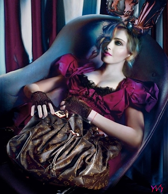 Madonna For Louis Vuitton Fall 2009 Campaign