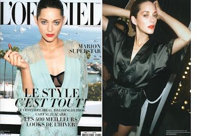 Marion Cotillard for L'Officiel Paris
