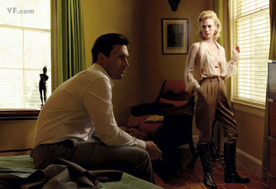 Vanity Fair - Mad Men's Jon Hamm and January Jones by Annie Leibovitz