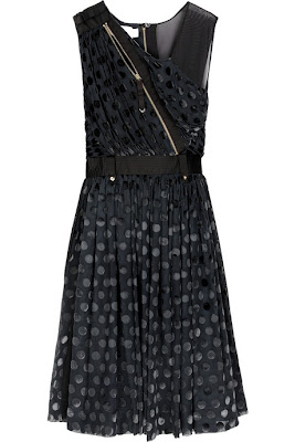 Luella Florence Polka-Dot Dress