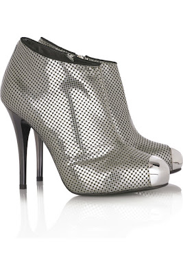 Giuseppe Zanotti Perforated Leather Ankle Boots