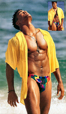 ... Shemar naked on beachs. I didn't include any full monty's, ...