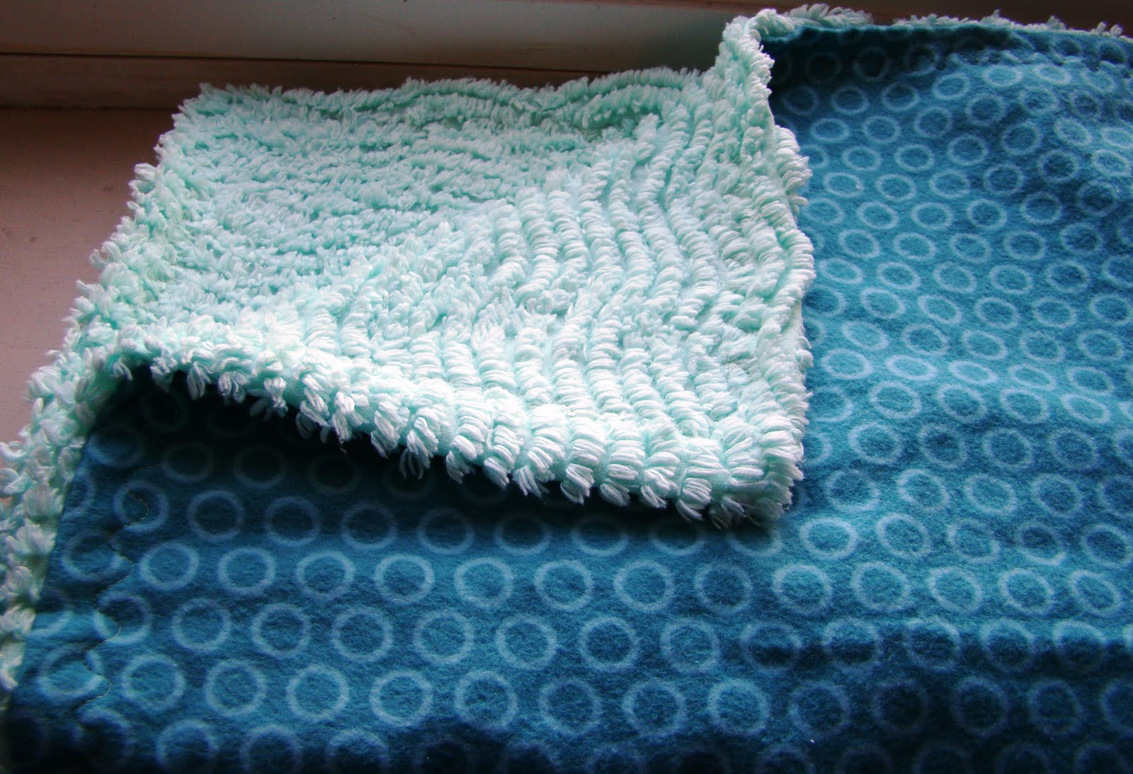flannel and chenille blanket - Chenille Blanket