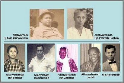 "A complete Hj Akib""s Family @ Jan 2008"