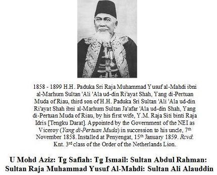 Sultan Raja Mohammad Yusuf Al-Mahdi