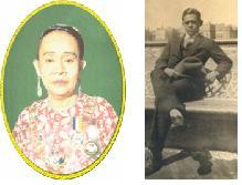 Sultanah Engku Tun Aminah & sibling: U Ibrahim U Ahmad