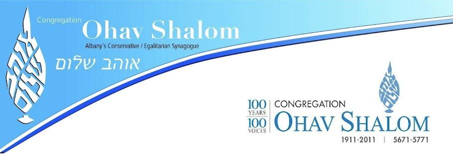Ohav Shalom - 100 Years - History