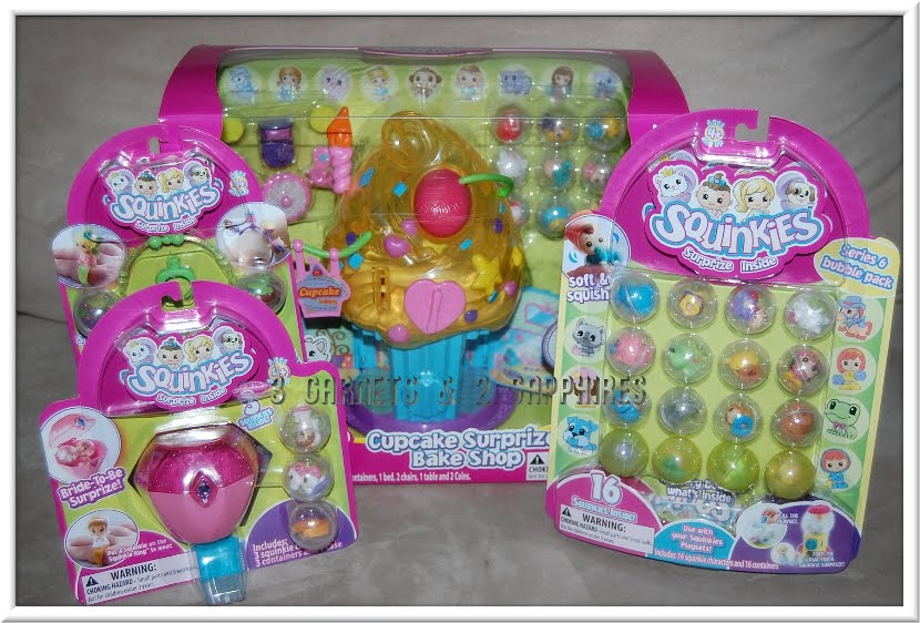 Squinkies Toys For Boys : Garnets sapphires giveaway review squinkies