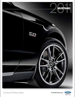 2011 Ford Mustang Brochure