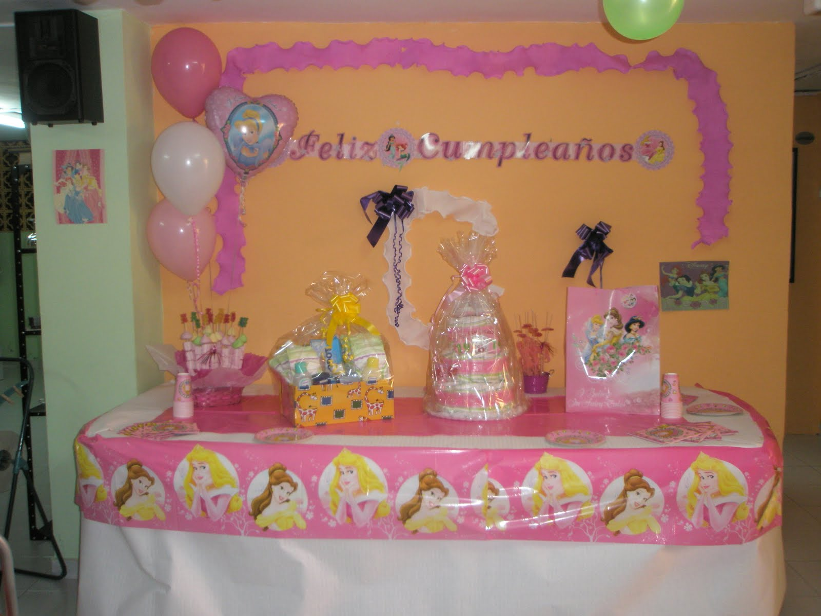 Decoracion de cumpleanos cake ideas and designs for Decoracion fiesta cumpleanos nina
