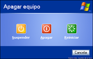 Windows xp, no se apaga (la solucion)