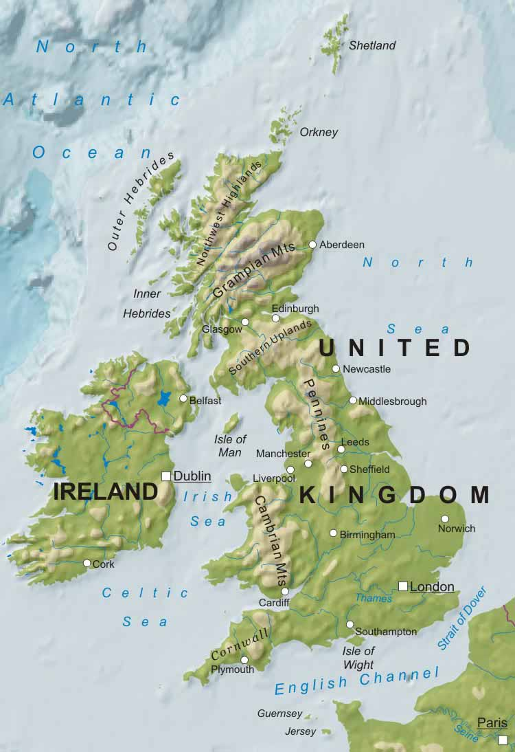 UNITED KINGDOM: UK MAPS