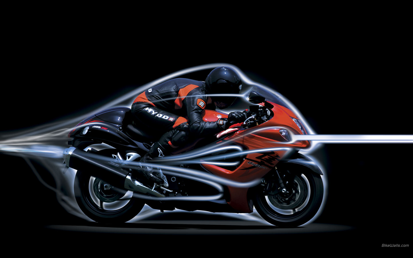 Red Suzuki Hayabusa Wallpapers