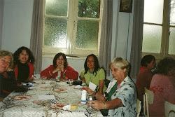 Desayuno en la Casa Parroquial