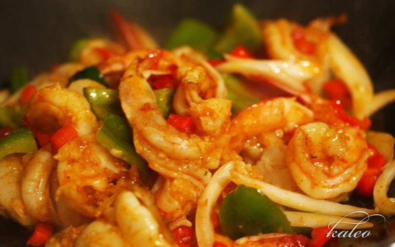 Hunan Hot-and-Spicy Shrimp Recipe — Dishmaps