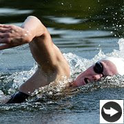 open water or pool training for triathlons