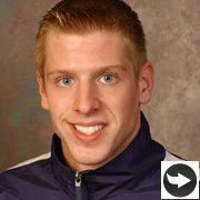 andrew zinn photo courtesy UD athletic website www.bluehens.com