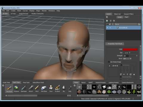 3D Animation Autodesk Mudbox 2011