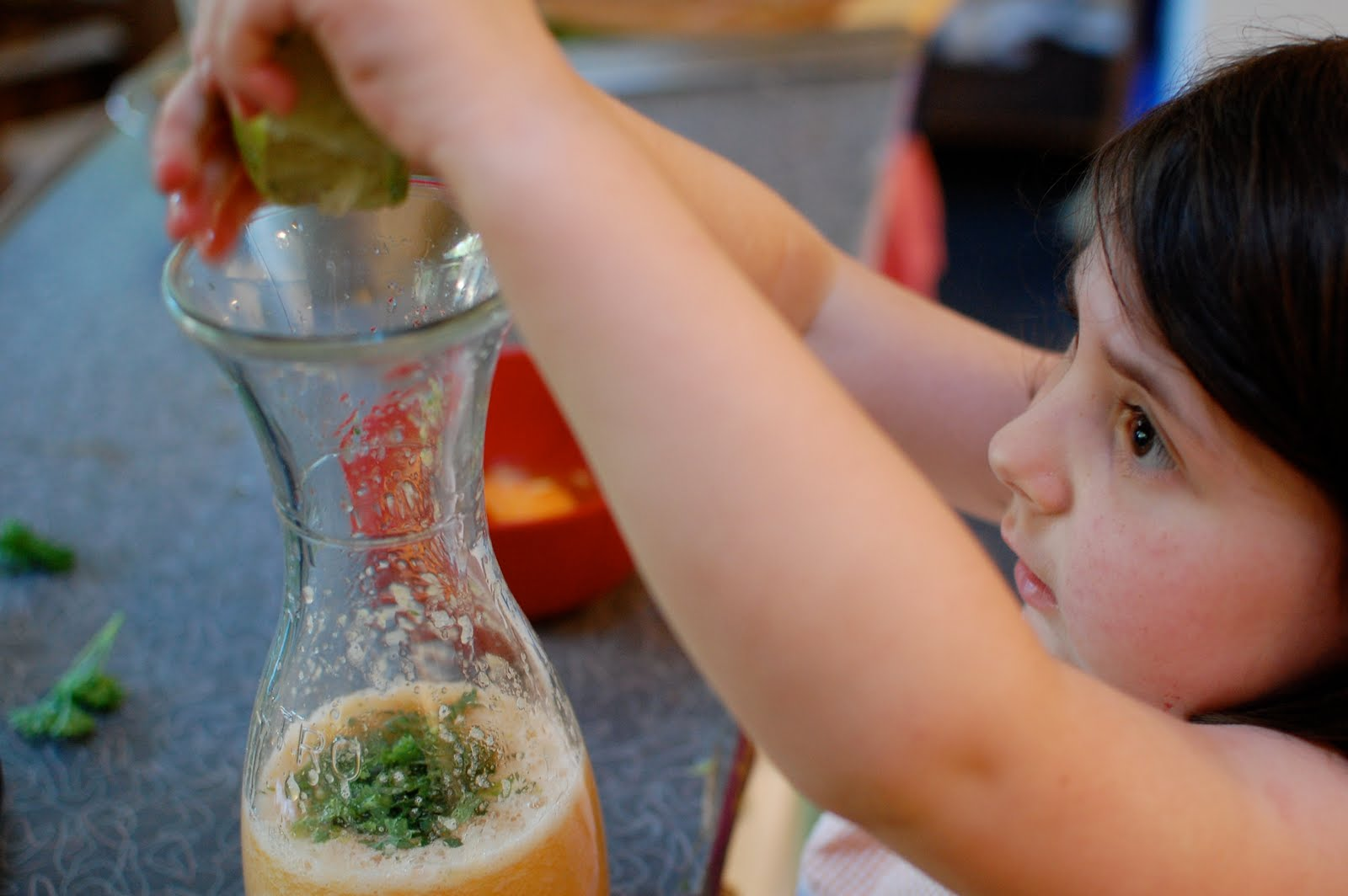 melon cucumber agua fresca | Eating From the Ground Up