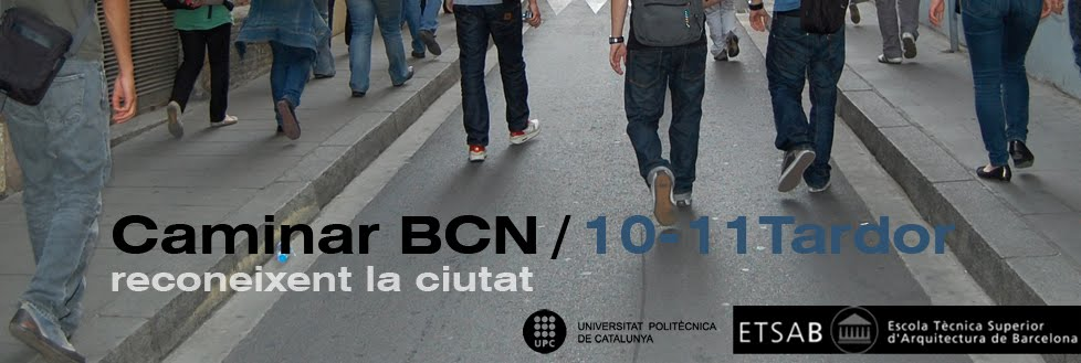 Caminar BCN 2010-11 Tardor