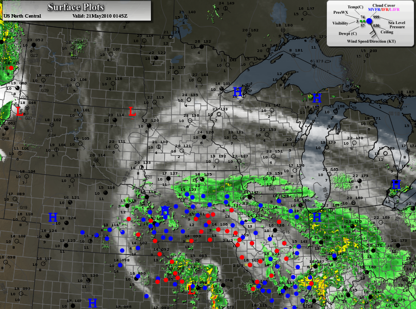 Weather Map Thursday Night S Map Showed A Stormy Swirl Just South Of Minnesota A Veil Of High Clouds Spreading Into Minnesota