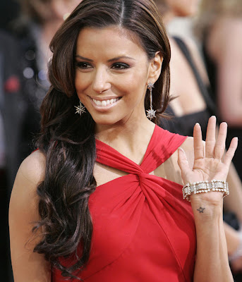 Celebrity hairstyles - haircuts: Eva Longoria curly hairstyle