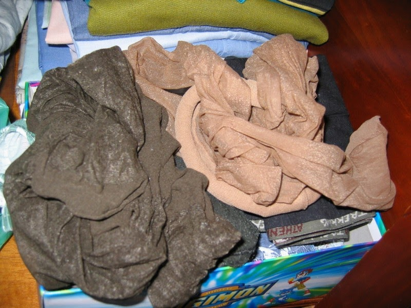 Worn pantyhose sale said she