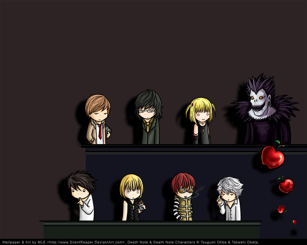 Death Note Near Wallpaper