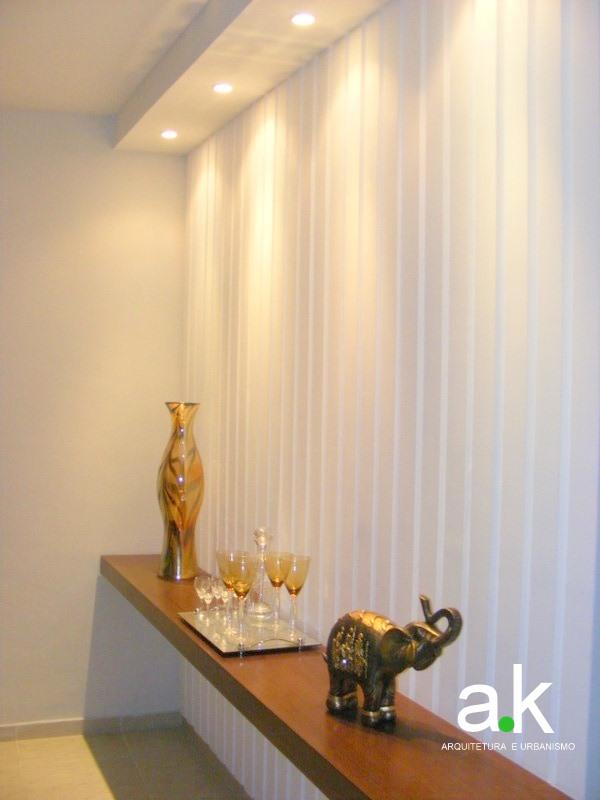 Sala De Jantar Com Parede De Gesso ~  arquitetura e urbanismo Destaque na parede de gesso  sala de jantar