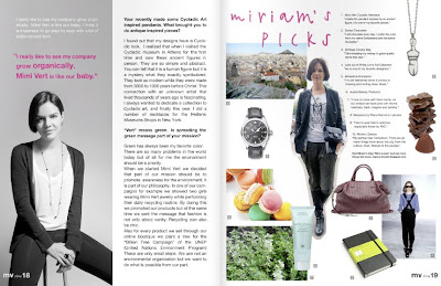 mv zine interview Miriam Josi