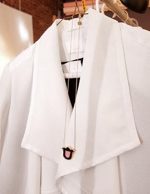 Mimi Vert Jeanne d'Arc necklace