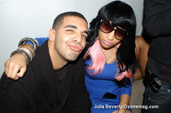 Nicki Minaj and Drake got married. At least thats what they are telling the