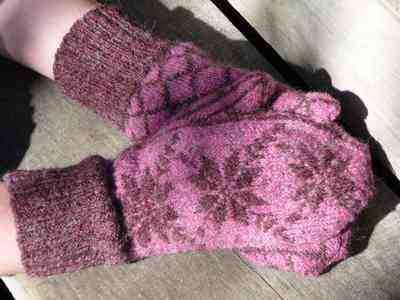 Free Pattern For Knitted Mittens Images Knitting Patterns Free