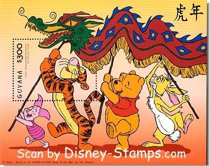 winnie the pooh new year celebrations