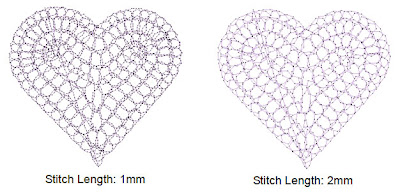 Adjusting Island Coil stitch length