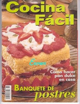 La cocina de sandra cocina facil banquete de postres for Cocina facil para invitados