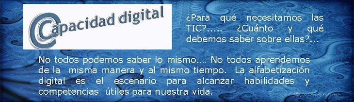 capacidad digital